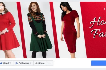 Facebook - Holiday Favories Campaign
