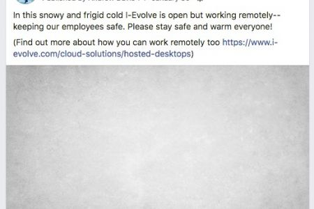 I-Evolve - Facebook Post