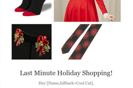 Cats Like Us - Last Minute Shopping Campaign