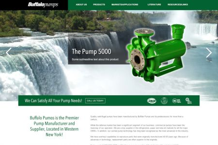 Buffalo Pumps Website